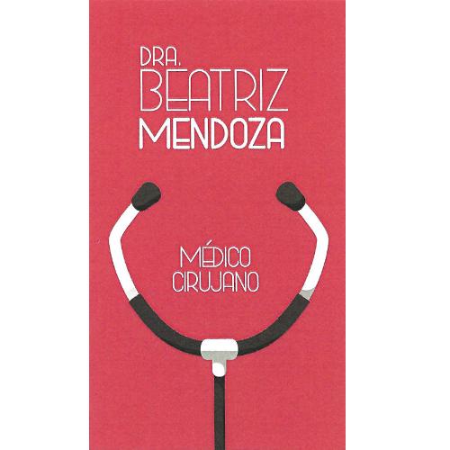 Dra. Mendoza López Beatriz del Rosario